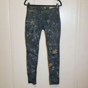 Rag & Bone Waxed Cosmos Skinny Jean